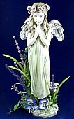 Angel Praying in Pendleton IN, The Flower Cart