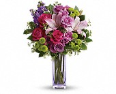 Teleflora's Fresh Flourish Bouquet in Dallas TX, Petals & Stems Florist