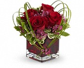 Teleflora's Sweet Thoughts Bouquet with Red Roses in Dallas TX, Petals & Stems Florist