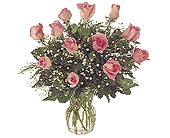Pink Passion by Petals & Stems in Dallas TX, Petals & Stems Florist