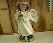 Praying Angel Figurine in Ionia MI, Sid's Flower Shop