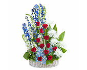 Honor Basket Tribute in Methuen MA, Martins Flowers & Gifts