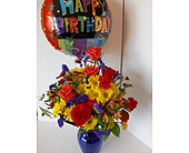 High Flying Birthday Bouquet by Hody's in Nashville TN, Flowers By Louis Hody