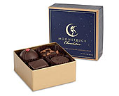Moonstruck 4 piece chocolates in Portland OR, Portland Coffee Shop