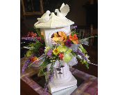 Doves on the Gazebo in Chattanooga, Tennessee, Chattanooga Florist 877-698-3303