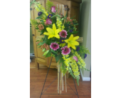 Cross Tribute in Charlotte NC, Starclaire House Of Flowers Florist