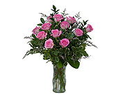 Pink Rose Perfection in Methuen MA, Martins Flowers & Gifts