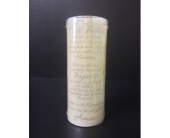 Our Father - LED Candle with floral arrangement in Moon Township PA, Chris Puhlman Flowers & Gifts Inc.