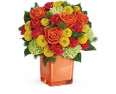 Teleflora's Citrus Smiles Bouquet in Portland OR, Portland Coffee Shop
