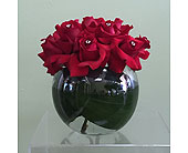 One Dozen Red Roses and Diamonds in Aventura FL, Aventura Florist