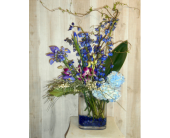 Blue Suede in Dallas TX, Petals & Stems Florist