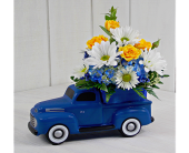 1948 Vintage Ford F1 with Flowers in Pendleton IN, The Flower Cart