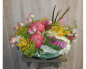 Popping Pauve in Dallas TX, Petals & Stems Florist