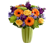 Bright Garden Bouquet in Birmingham AL, Norton's Florist