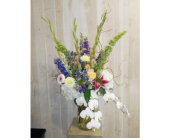 The Orchestra in Dallas TX, Petals & Stems Florist