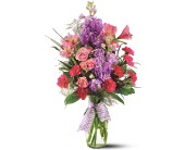 Teleflora's Fragrance Vase By Petals & Stems in Dallas TX, Petals & Stems Florist