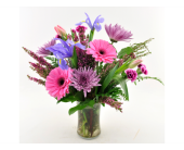 Lavender and Pink Arrangment in Mesa AZ, Desert Blooms Floral Design
