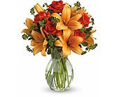 Fiery Lily and Rose in Aventura FL, Aventura Florist