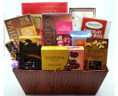 Cherished Confections Gourmet Chocolate Basket in Chicago IL, La Salle Flowers