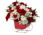 Holiday Sleigh Bouquet in Birmingham AL, Norton's Florist