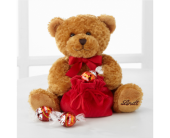 Lindt Loveable Holiday Bear with Truffles - Good, FlowerShopping.com