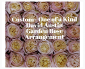Custom David Austin Garden Rose Bouquet in Wichita KS, Tillie's Flower Shop