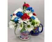 KU Mug in Wichita KS, Tillie's Flower Shop