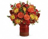 Teleflora's Heirloom Crock Bouquet in Charlotte NC, Starclaire House Of Flowers Florist