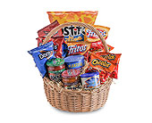 Snack Basket in Methuen MA, Martins Flowers & Gifts