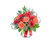 Scarlet Fire in Methuen MA, Martins Flowers & Gifts