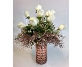 Rose Gold Elegance in Wichita KS, Tillie's Flower Shop