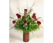 Award Winning Black Pearl Roses in Wichita KS, Tillie's Flower Shop