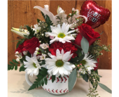 Valentine Home Run in Methuen MA, Martins Flowers & Gifts