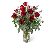 Elegance and Grace Dozen Roses in Wichita KS, Tillie's Flower Shop