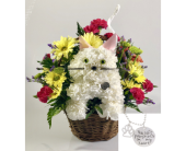 Cat Memorial Basket in Wichita KS, Tillie's Flower Shop