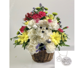 Dog Memorial Basket in Wichita KS, Tillie's Flower Shop