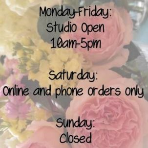 Fall Hours * Click for details in Ann Arbor MI, Lily's Garden