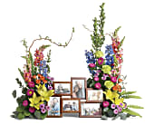 Loving Farewell Photo Tribute Bouquet, picture