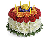 Your Wish Is Granted Birthday Cake Bouquet, picture