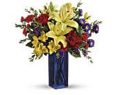 Teleflora's Flying Colors Bouquet, picture