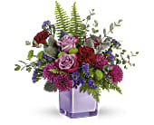 Teleflora's Purple Serenity Bouquet, picture
