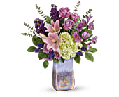 Teleflora's Purple Swirls Bouquet, picture