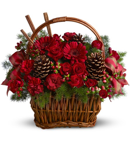 Holiday Spice Basket in McLean VA, MyFlorist