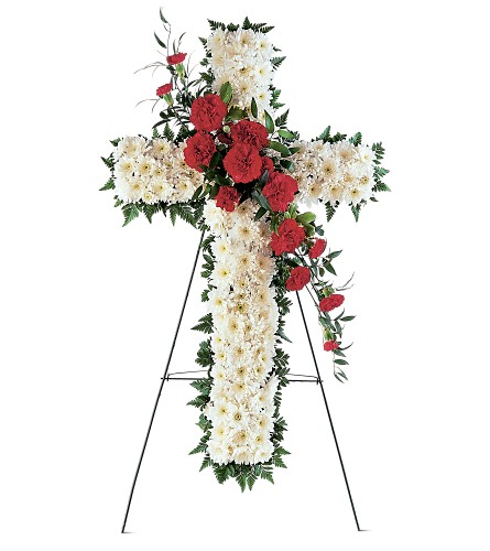Hope and Honor Cross in Santa Monica CA, Edelweiss Flower Boutique