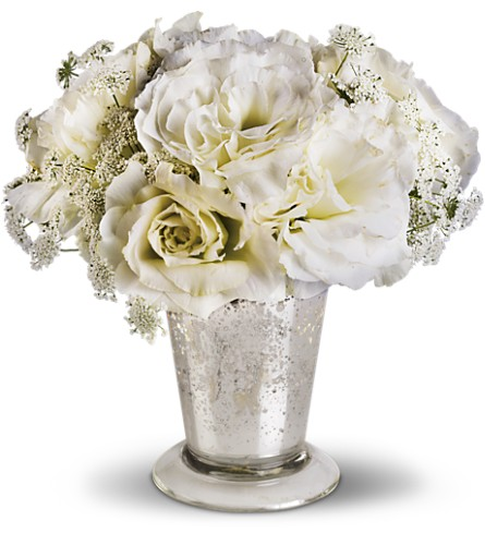 Teleflora's Angel Centerpiece in Shawano WI, Ollie's Flowers Inc.