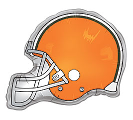 Cleveland Browns Football Helmet mylar in Perrysburg & Toledo OH  OH, Ken's Flower Shops
