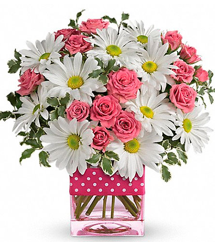 Teleflora's Polka Dots and Posies in Ogden UT, Jimmy's Flowers
