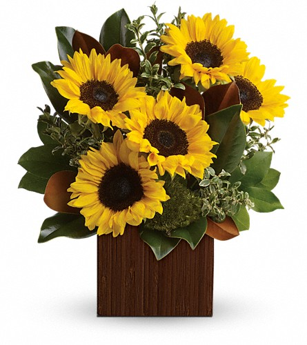 You're Golden Bouquet in Santa Monica CA, Edelweiss Flower Boutique