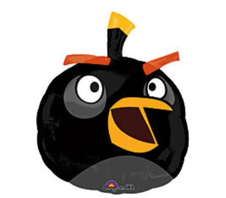 Angry Birds- Black in Perrysburg & Toledo OH  OH, Ken's Flower Shops