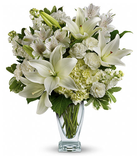 View Larger Purest White Bouquet In Santa Monica Ca Edelweiss Flower Boutique